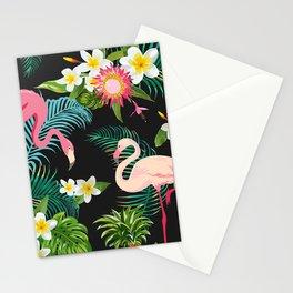 Flamingo Dance Stationery Cards