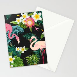 Flamingo Dance Stationery Cards
