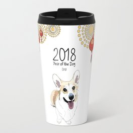Year of the Dog - Corgi Travel Mug