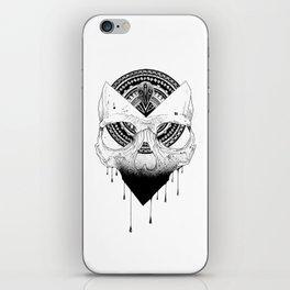 Enigmatic Skull iPhone Skin