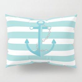 AFE Nautical Aqua Ship Anchor Pillow Sham