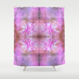 Soft Summer Floral Shower Curtain