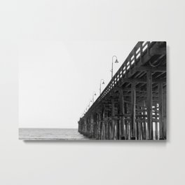 Ventura Pier Metal Print
