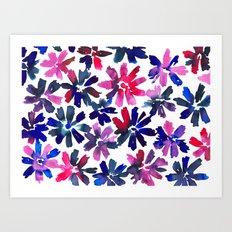 Daisy Drop Art Print