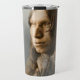 Peter Iron Shell, Sioux Indian Travel Mug