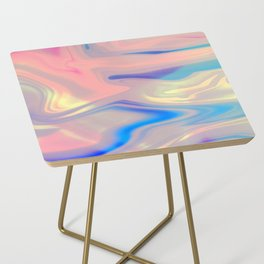 Holographic Dreams Side Table