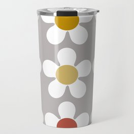 Spring Daisies Travel Mug