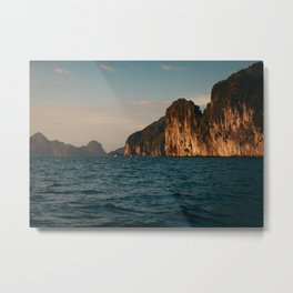 El Nido at Sunset Metal Print