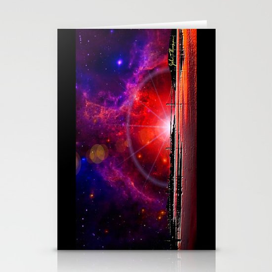 Bridge to the stars Stationery Cards