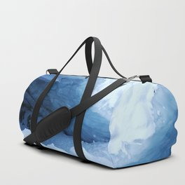 Majesty of Blackcomb Glacier Ice Cave Duffle Bag