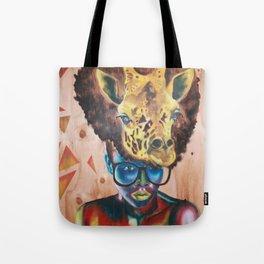 Giraffe Me Centric Tote Bag