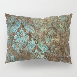 Aged Damask Texture 4 Pillow Sham