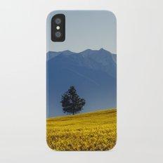 Yellow field Slim Case iPhone X