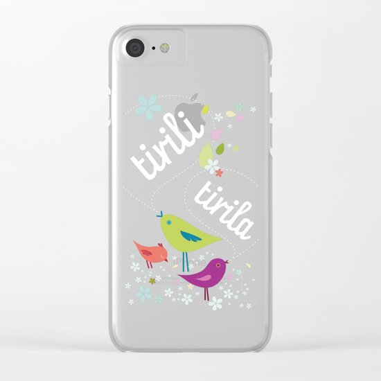 tirili – tirila Clear iPhone Case