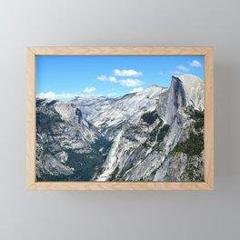 Half Dome View Framed Mini Art Print