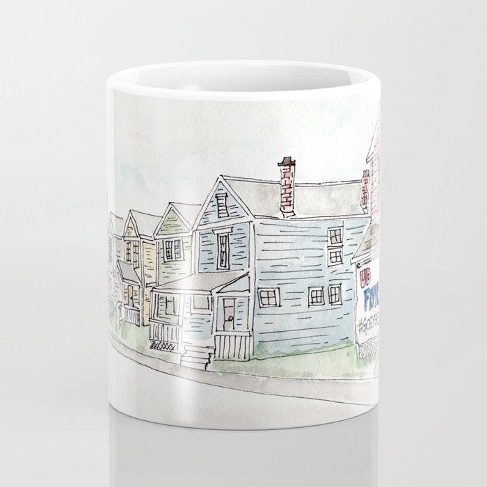 University of Dayton Student Neighborhood, Ghetto, UD Coffee Mug
