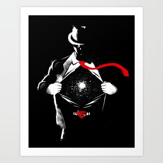 KAL-EL Art Print