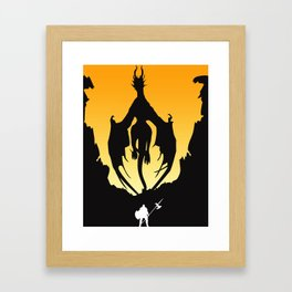 Dark Souls Prepare To Die! Framed Art Print