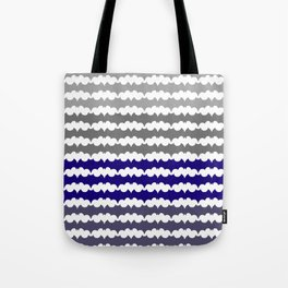 Ombre Abstract Pattern Tote Bag