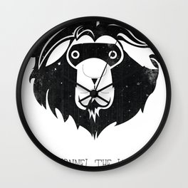 Lyonnel the Lion Wall Clock