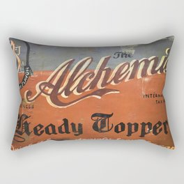 Vermont Brewers Series The Alchemist Rectangular Pillow