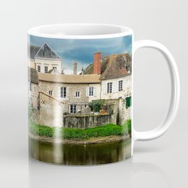 Houses by the river Coffee Mug