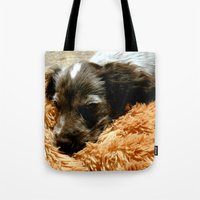 coco Tote Bags featuring Coco by Sandra Ireland Images