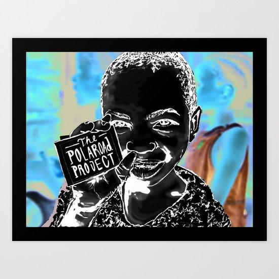The Polaroad Project Art Print