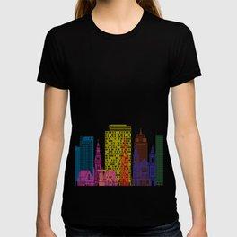 Amsterdam V2 skyline pop T-shirt