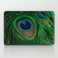 peacock iPad Cases featuring Peacock by Olivia Joy StClaire