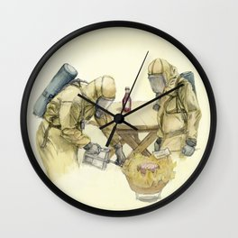 Barbecue Wall Clock