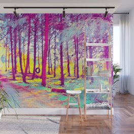 Let's Take Our Hearts For A Walk In The Woods and Listen to the Magic Whispers of Old Trees... Wall Mural