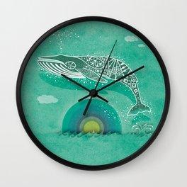 Whale Future Wall Clock