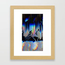 Tennis Rest Framed Art Print