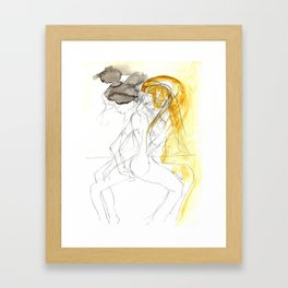 sketch II Framed Art Print