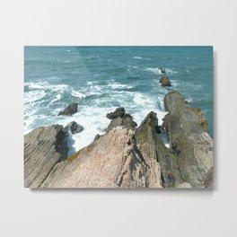 Fingers of the Sea Metal Print