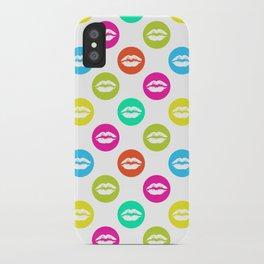 My bright lips iPhone Case