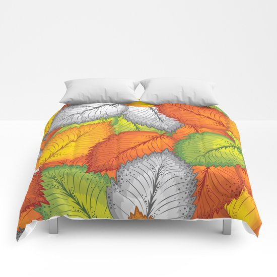 Autumn leaves #1 Comforters
