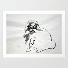 Wild Dog no. 1 Art Print