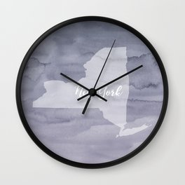 Sweet Home New York Wall Clock