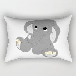 Stuffed Elephant Rectangular Pillow