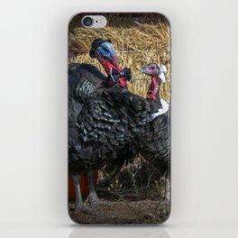 Thanksgiving Turkey Pilgrims iPhone Skin