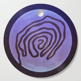 Tribal Maps - Magical Mazes #04 Cutting Board