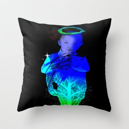 Growing Up Throw Pillow