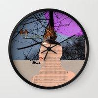 marianna Wall Clocks featuring A dream for a lifetime · Marianna by Marko Köppe
