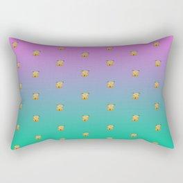 A thousand sitting dogs Rectangular Pillow