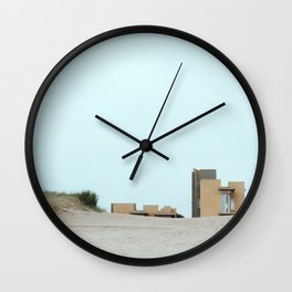 Concrete and sand Wall Clock