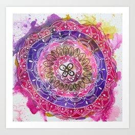 Abundance Mandala Art Print
