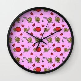 Garden Friends Wall Clock