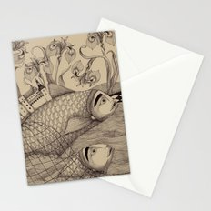 The Golden Fish (1) Stationery Cards